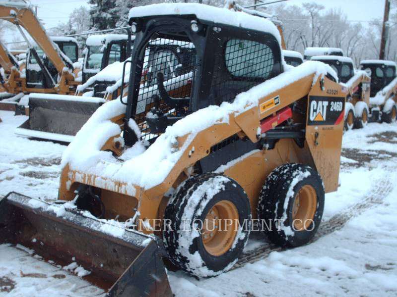 CATERPILLAR SKID STEER LOADERS 246D HF equipment  photo 4