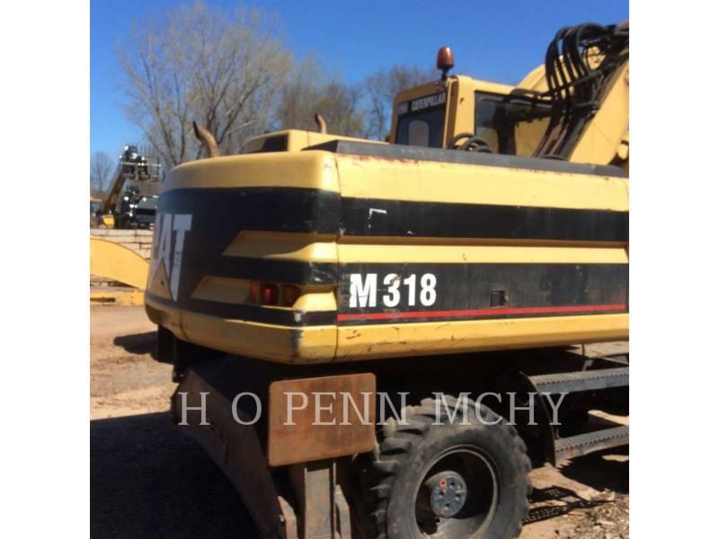 CATERPILLAR WHEEL EXCAVATORS M318 equipment  photo 8