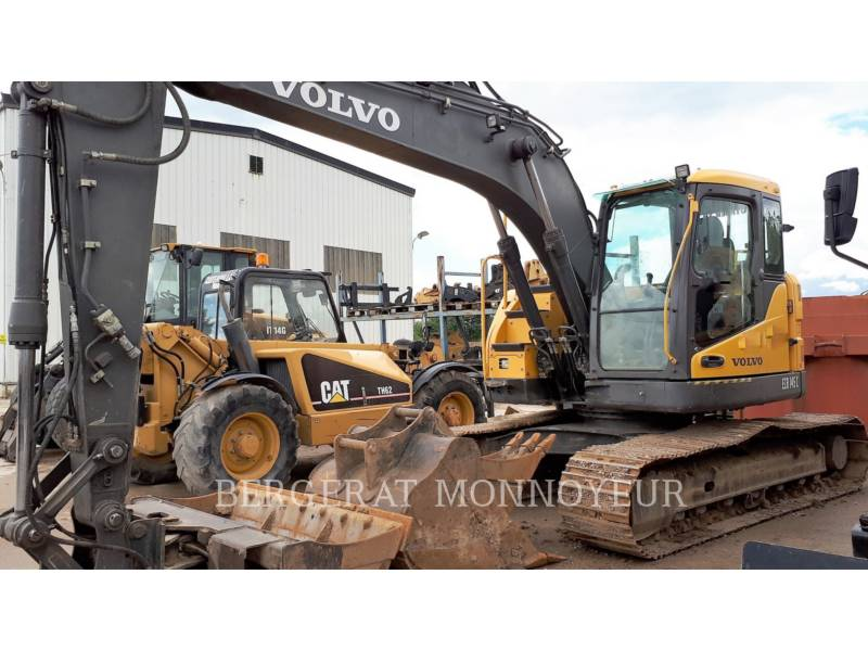 VOLVO CONSTRUCTION EQUIPMENT EXCAVADORAS DE CADENAS ECR145CL equipment  photo 3