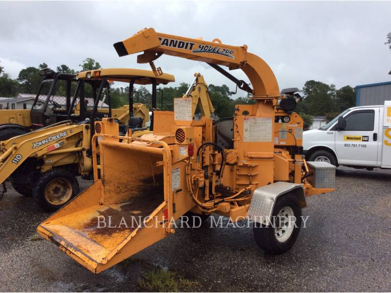 BANDIT CHIPPER, DISC 200 equipment  photo 1
