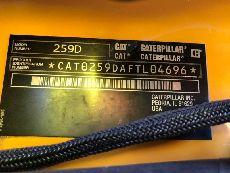 CATERPILLAR CHARGEURS TOUT TERRAIN 259D equipment  photo 23