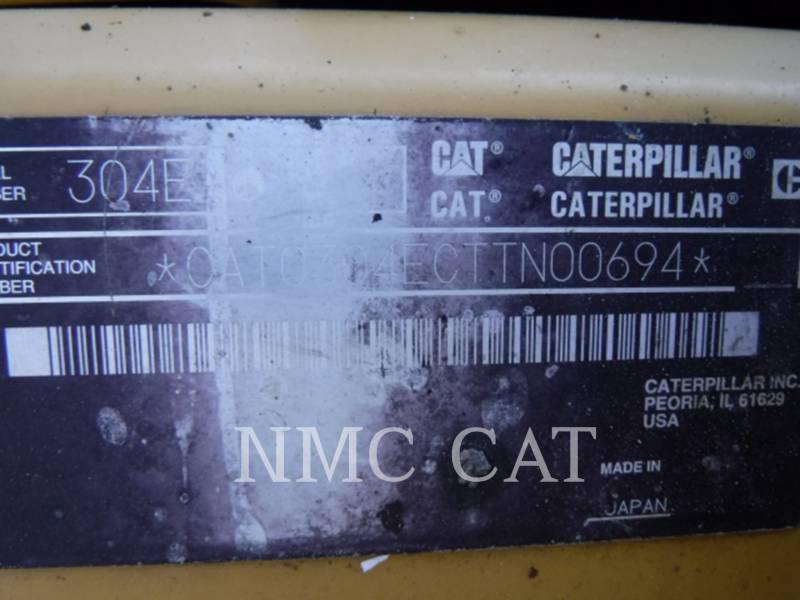 CATERPILLAR KETTEN-HYDRAULIKBAGGER 304E2 equipment  photo 6