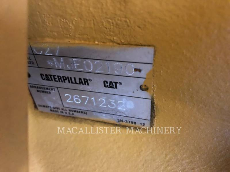 CATERPILLAR PORTABLE GENERATOR SETS C27 equipment  photo 8