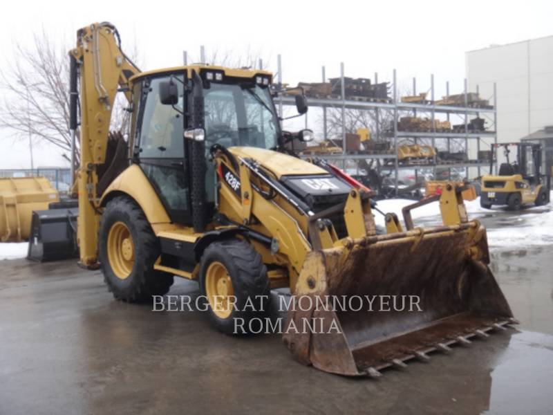 CATERPILLAR CHARGEUSES-PELLETEUSES 428 F equipment  photo 1