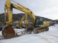 Equipment photo KOBELCO / KOBE STEEL LTD SK485LC PELLES SUR CHAINES 1