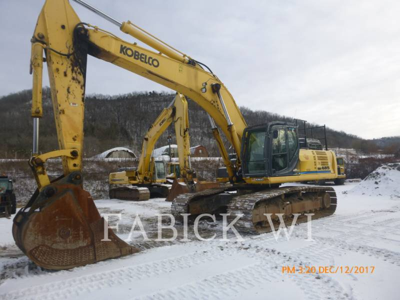 KOBELCO / KOBE STEEL LTD TRACK EXCAVATORS SK485LC equipment  photo 1
