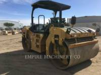 CATERPILLAR ROLO COMPACTADOR DE ASFALTO DUPLO TANDEM CB66B equipment  photo 3