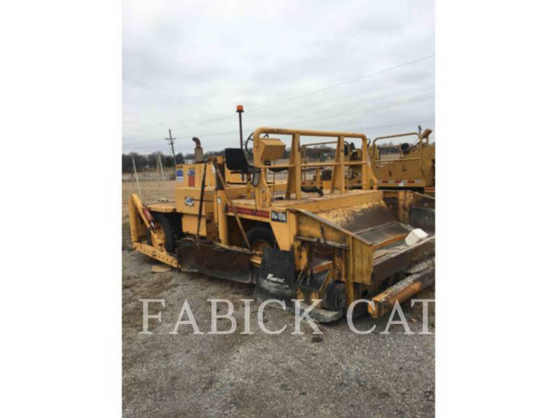 BLAW KNOX PAVIMENTADORA DE ASFALTO RW100 equipment  photo 1