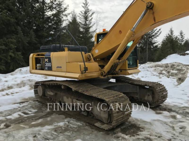 KOMATSU TRACK EXCAVATORS PC300LC-8 equipment  photo 4