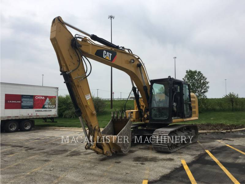 CATERPILLAR KETTEN-HYDRAULIKBAGGER 316FL equipment  photo 1