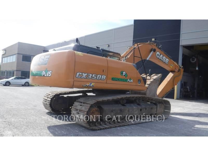 CASE TRACK EXCAVATORS CX350B equipment  photo 3