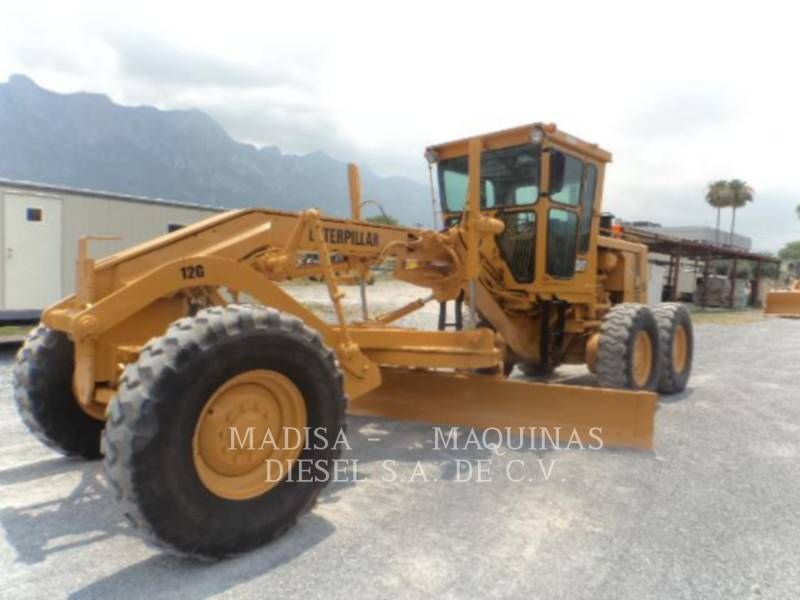 CATERPILLAR NIVELEUSES POUR MINES 12G equipment  photo 1