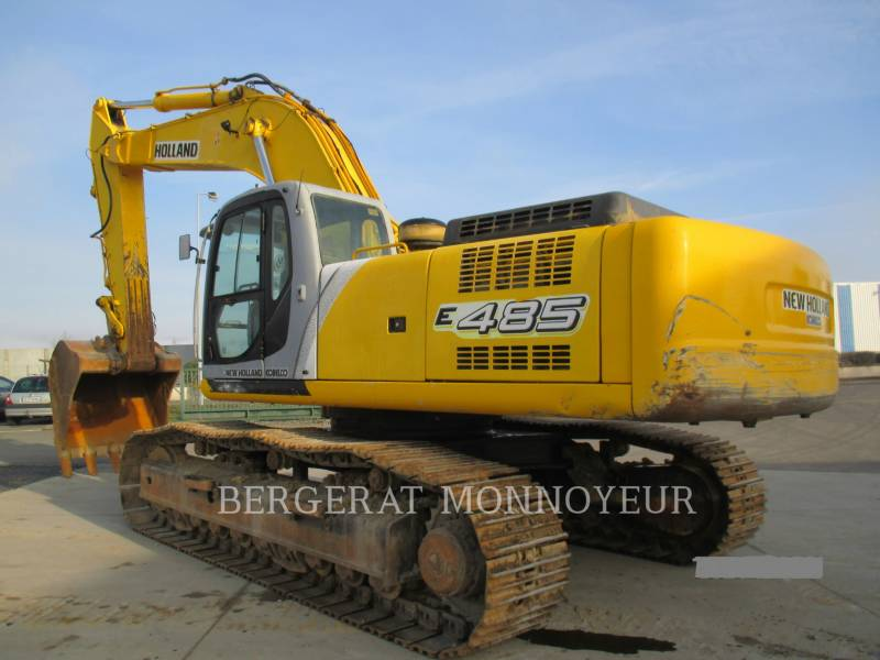 FORD / NEW HOLLAND TRACK EXCAVATORS E485 equipment  photo 4