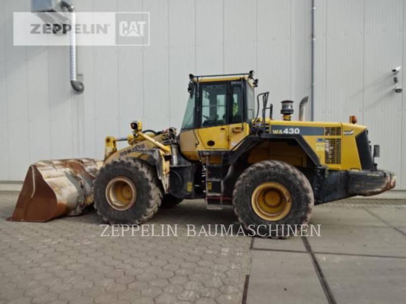 KOMATSU LTD. ŁADOWARKI KOŁOWE/ZINTEGROWANE NOŚNIKI NARZĘDZI WA430 equipment  photo 6
