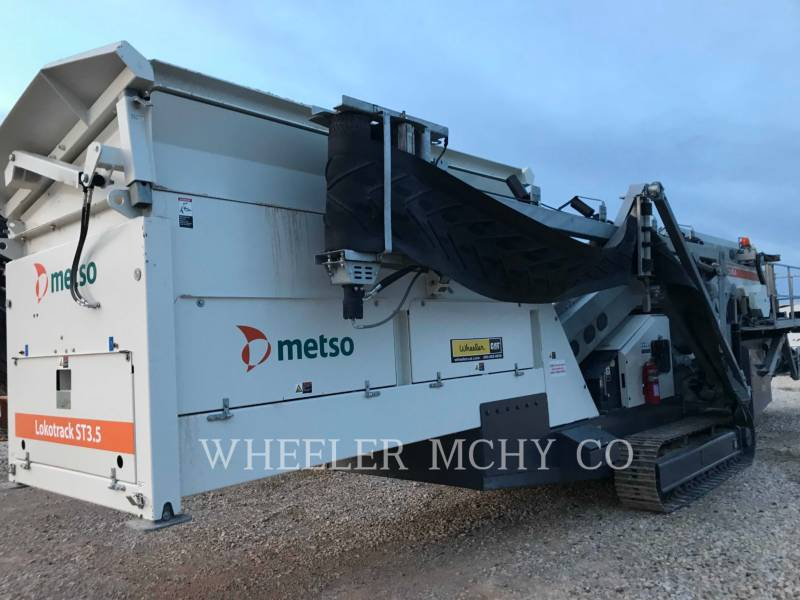 METSO SITE ST3.5 SCRN equipment  photo 1