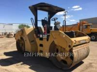 CATERPILLAR COMPATTATORE PER ASFALTO A DOPPIO TAMBURO VIBRANTE CB54 equipment  photo 1
