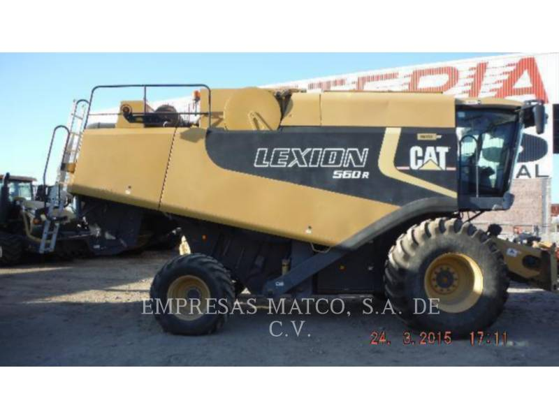 LEXION COMBINE COMBINADOS 560R equipment  photo 2