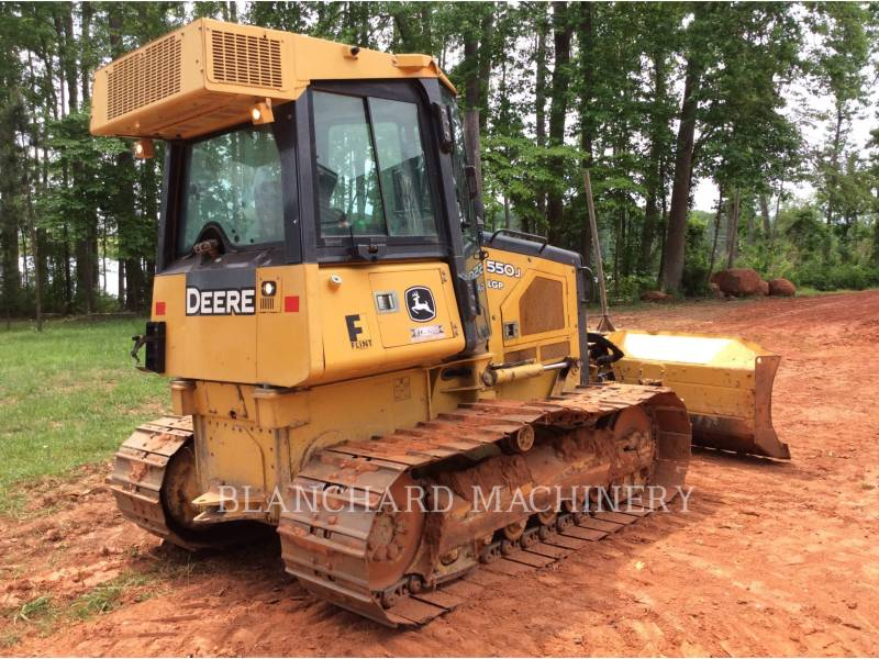 DEERE & CO. TRACTEURS SUR CHAINES 550J LGP equipment  photo 4