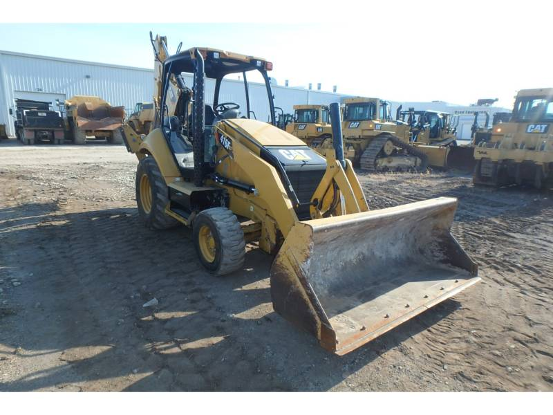 CATERPILLAR RETROEXCAVADORAS CARGADORAS 416FST equipment  photo 2