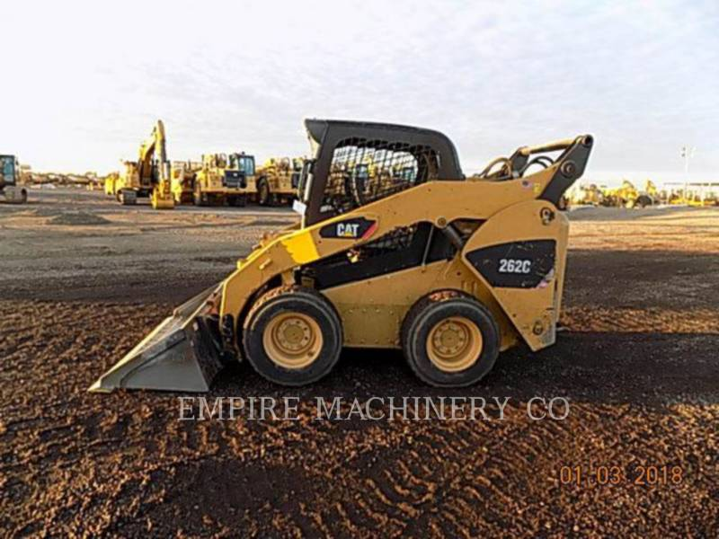 CATERPILLAR SKID STEER LOADERS 262C equipment  photo 2