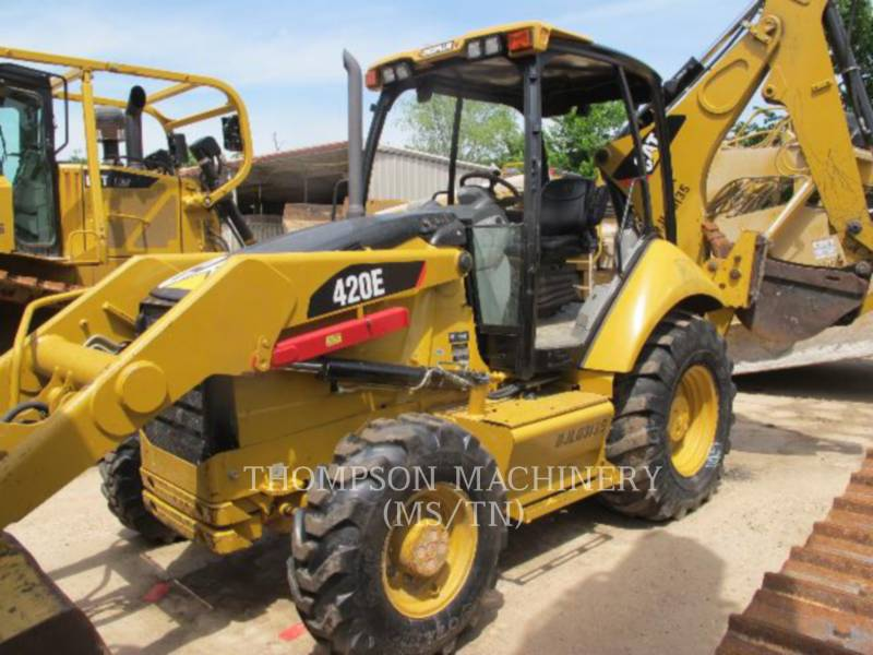 CATERPILLAR RETROESCAVADEIRAS 420E equipment  photo 1