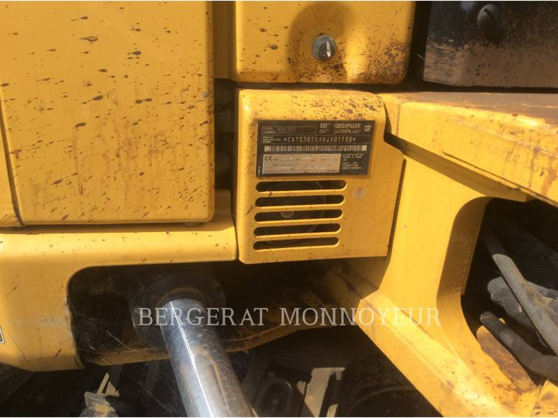 CATERPILLAR EXCAVADORAS DE CADENAS 305E2 equipment  photo 14