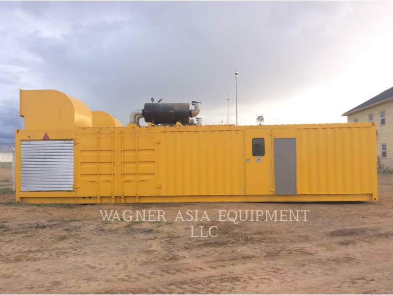 GENSET STATIONARY GENERATOR SETS CAT3516B equipment  photo 4