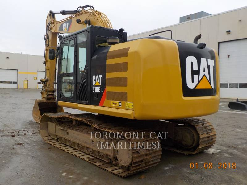 CATERPILLAR トラック油圧ショベル 318EL equipment  photo 6