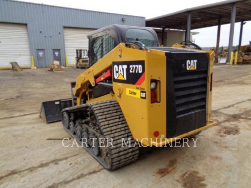Caterpillar MINIÎNCĂRCĂTOARE RIGIDE MULTIFUNCŢIONALE 277D AC equipment  photo 4
