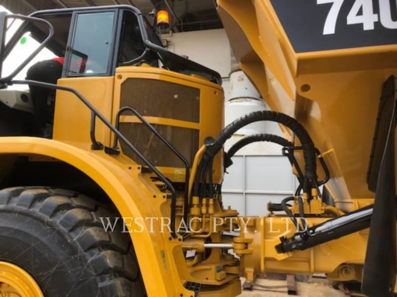 CATERPILLAR DUMPER ARTICOLATI 740B equipment  photo 10