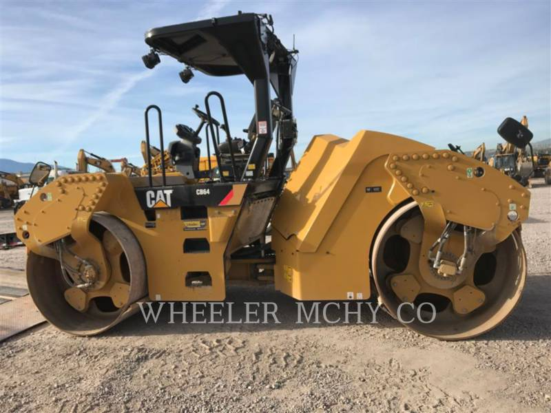 CATERPILLAR TANDEMVIBRATIONSWALZE, ASPHALT CB64 R9 equipment  photo 8