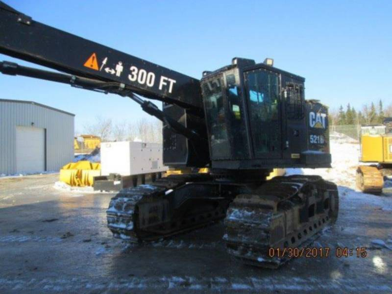 CATERPILLAR FORESTAL - COSECHADORA 521B equipment  photo 2