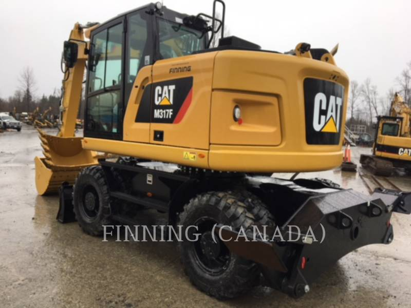 CATERPILLAR EXCAVADORAS DE RUEDAS M317F equipment  photo 3