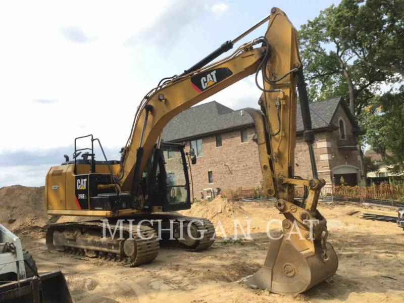 CATERPILLAR TRACK EXCAVATORS 316EL PTQ+ equipment  photo 2