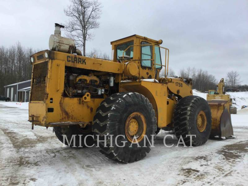 MICHIGAN CHARGEURS SUR PNEUS/CHARGEURS INDUSTRIELS 175B-C equipment  photo 3