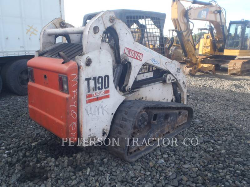 BOBCAT SKID STEER LOADERS BC T-190 equipment  photo 3