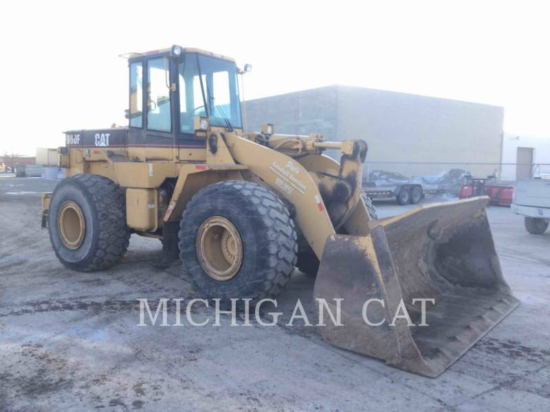 CATERPILLAR CARGADORES DE RUEDAS 960F equipment  photo 1