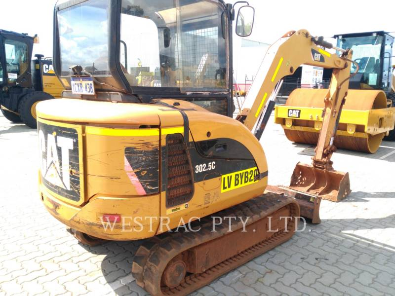 CATERPILLAR TRACK EXCAVATORS 302.5C equipment  photo 2