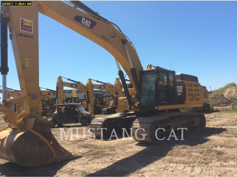 CATERPILLAR RUPSGRAAFMACHINES 349FL equipment  photo 1
