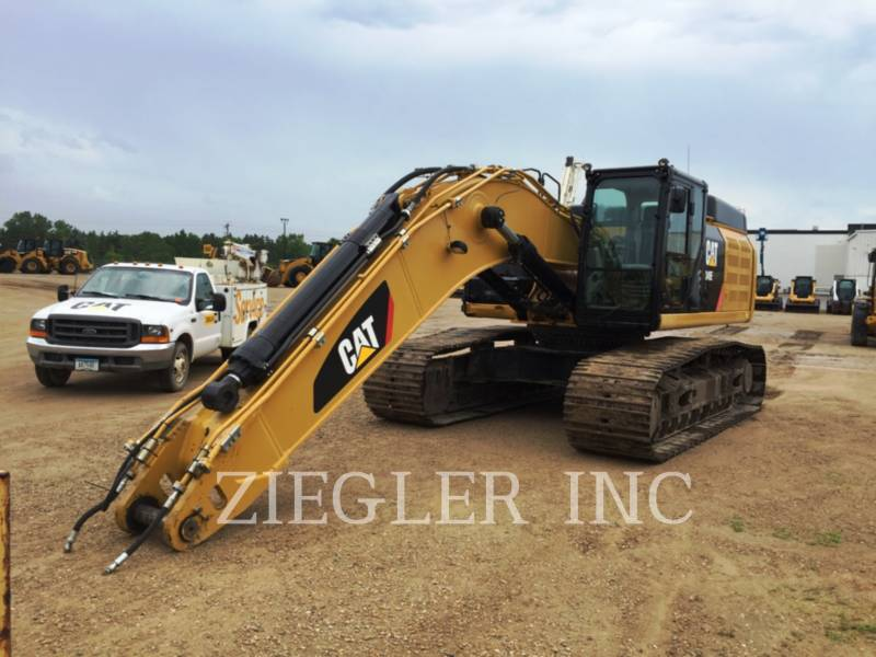 CATERPILLAR TRACK EXCAVATORS 349ELH equipment  photo 1