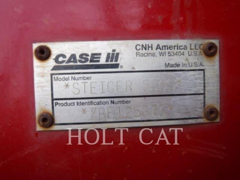 CASE AG TRACTORS STX550 equipment  photo 5