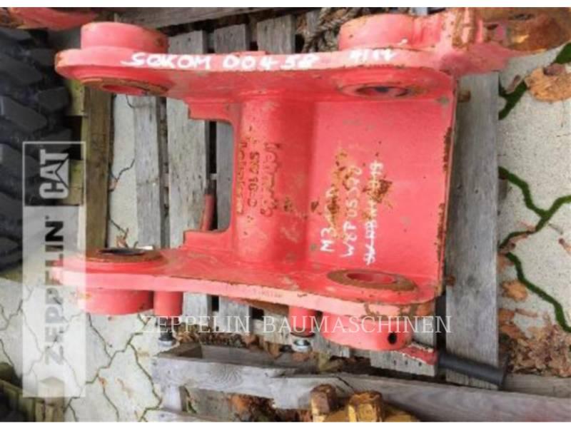 LEHNHOFF AG - HECKBAGGER-ARBEITSGERÄT MS10-3 f. CAT M318D equipment  photo 1