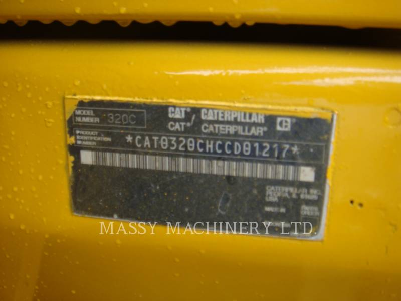 CATERPILLAR TRACK EXCAVATORS 320C equipment  photo 3