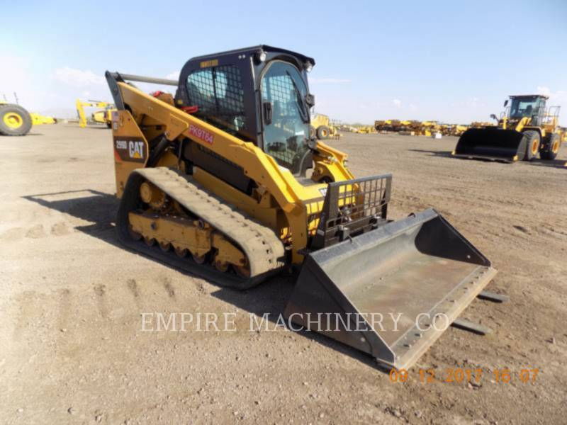 CATERPILLAR スキッド・ステア・ローダ 299D CA equipment  photo 1