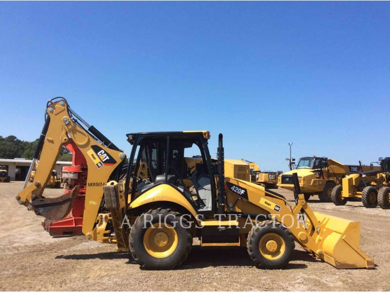 CATERPILLAR BACKHOE LOADERS 420F 4 equipment  photo 7