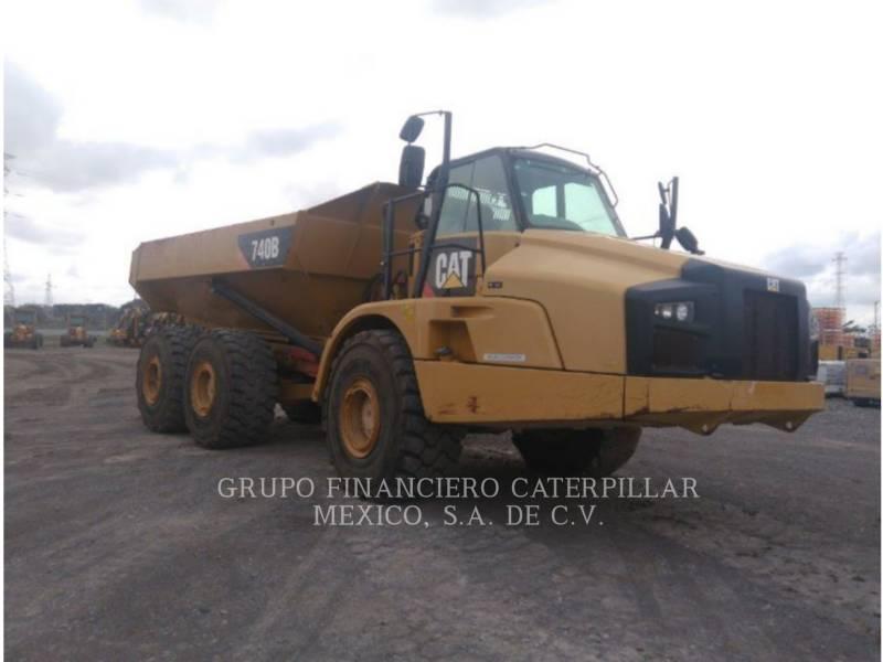 CATERPILLAR CAMINHÕES ARTICULADOS 740B equipment  photo 1