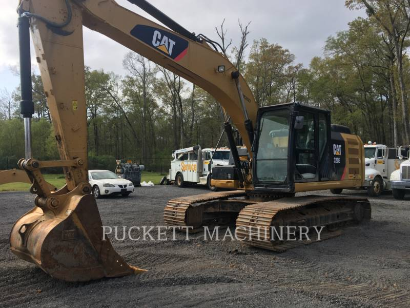 CATERPILLAR KETTEN-HYDRAULIKBAGGER 320E equipment  photo 7