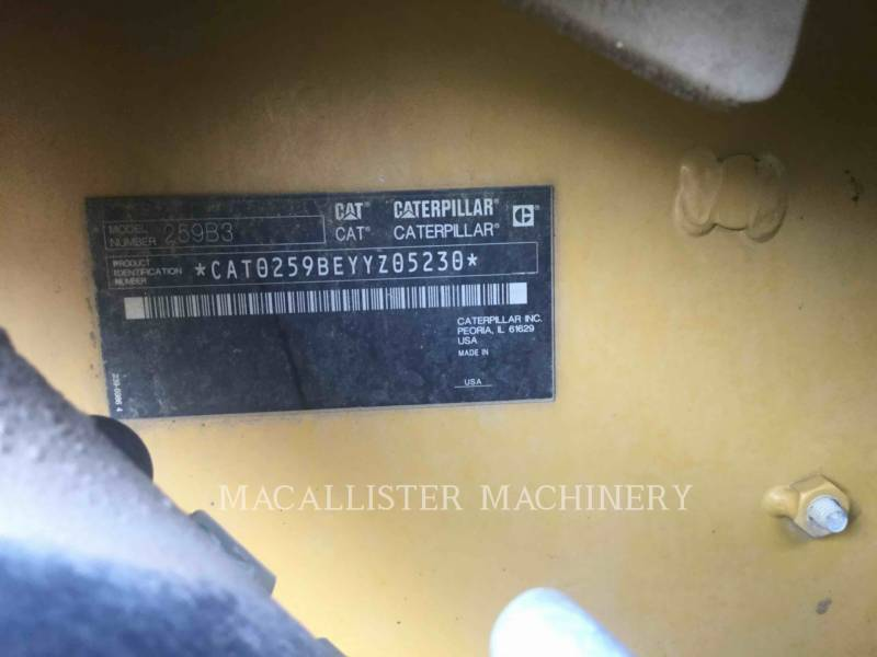 CATERPILLAR CARGADORES MULTITERRENO 259B3 equipment  photo 5