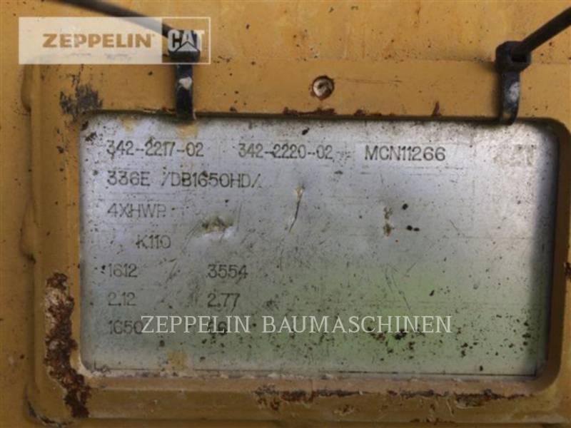CATERPILLAR KETTEN-HYDRAULIKBAGGER 336FLN equipment  photo 10