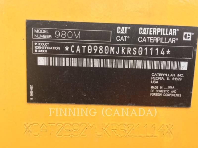 CATERPILLAR PÁ-CARREGADEIRAS DE RODAS/ PORTA-FERRAMENTAS INTEGRADO 980M equipment  photo 18